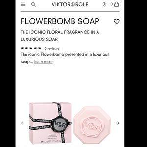 NEW Viktor Rolf bomblicious perfumed SOAP